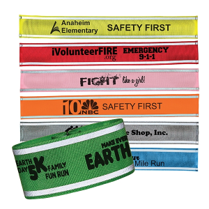 Nylon Reflective Snap Band